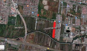 Lokasi dari Central Park MERR Surabaya